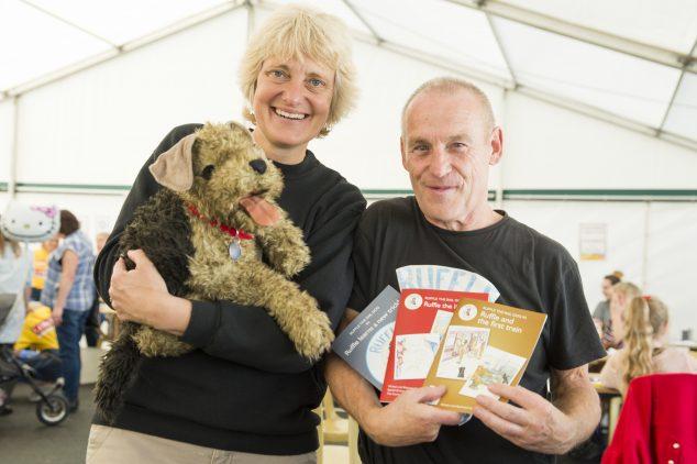 Community HeartBeat Trust adopt Ruffle the life saver!