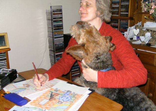 Ruffle 'lends a paw' to The Baldwin Charity Trust!